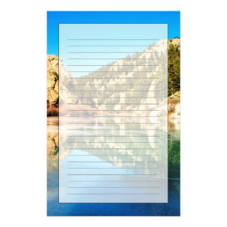 Reflection in Elevenmile Canyon Customized Stationery