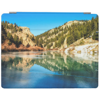 Reflection in Elevenmile Canyon iPad Cover