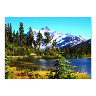Reflection Lake 13 Cm X 18 Cm Invitation Card