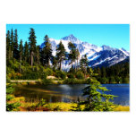Reflection Lake Business Card Template
