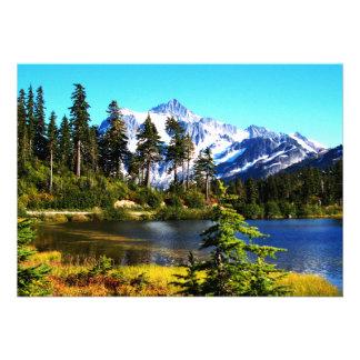Reflection Lake Custom Announcement
