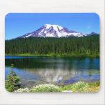 Reflection Lake, Mount Rainier, WA, USA Mouse Pads