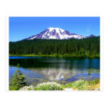 Reflection Lake, Mount Rainier, WA, USA Post Cards