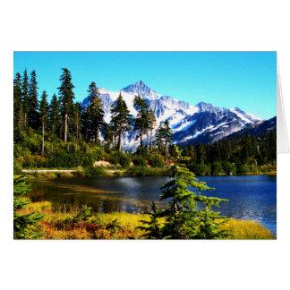 Reflection Lake Note Card