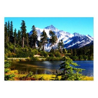 Reflection Lake Pack Of Chubby Business Cards