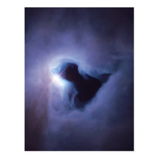 Reflection Nebula In Orion Hubble Space Postcard