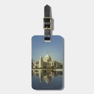 Reflection of a Museum Luggage Tag