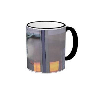 Reflection Of Christ (bordered photo) Ringer Mug