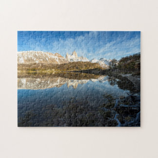 Reflection Of Patagonia Jigsaw Puzzle