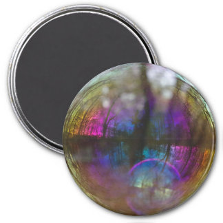 Reflection of Woods in Bubble Magnet