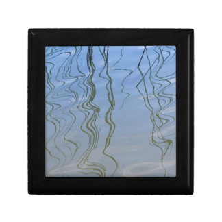 reflection on lake gift box