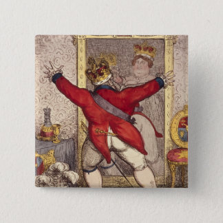 Reflection: To be, or not to be? 15 Cm Square Badge