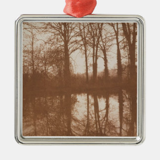 Reflections, 1843 (sepia photo) christmas ornament
