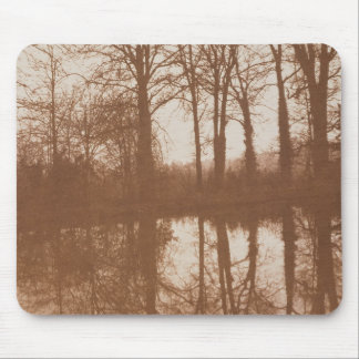 Reflections, 1843 (sepia photo) mouse mat