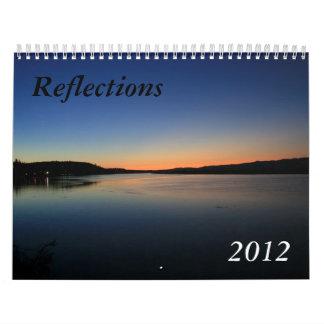 Reflections 2012 wall calendars