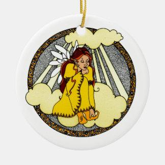 Reflections Angel Design Christmas Ornament