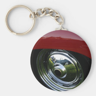 Reflections Basic Round Button Key Ring