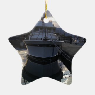 Reflections. Ceramic Star Decoration