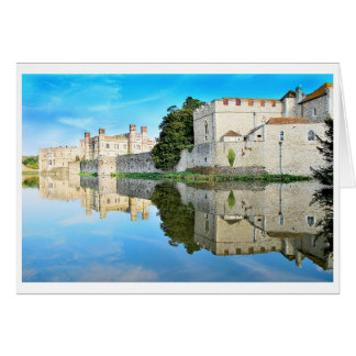 Reflections from a majestic Castle Card