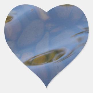 Reflections Heart Sticker