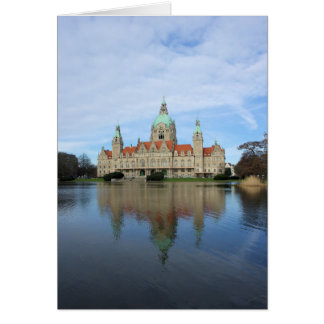 Reflections in Hannover, Germany - Greeting Card