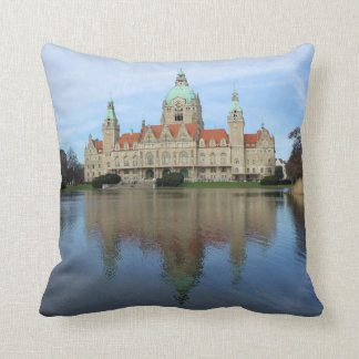 Reflections in Hannover, Germany Throw Pillow