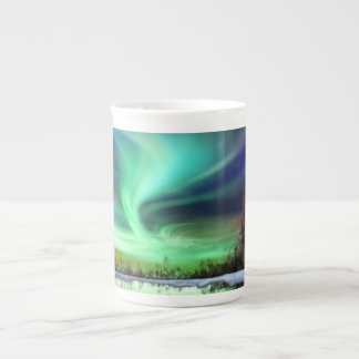 REFLECTIONS NORTHERN LIGHTS CHINA BONE MUG