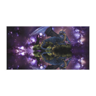 Reflections of a Dragon Pool Gallery Wrapped Canvas