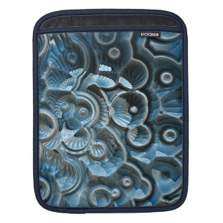 Reflections of A Fractal Fossil iPad Sleeve