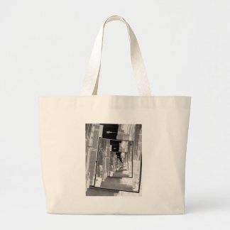 Reflections of An Infrared Alley Jumbo Tote Bag