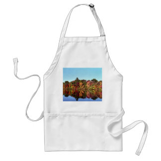 Reflections of Fall Adult Apron