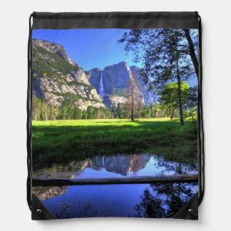 Reflections of Falls Drawstring Bag