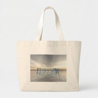 Reflections of Freedom Jumbo Tote Bag