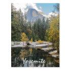 Reflections Of Half Dome Postcard