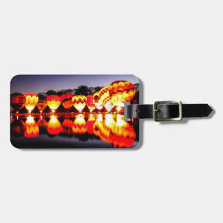 Reflections of Hot Air Balloons Luggage Tag