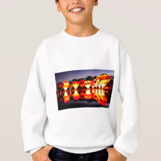 Reflections of Hot Air Balloons Sweatshirt