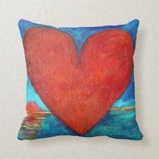 """""""Reflections of Love"""" Throw Pillow 20"""" x 20"""""""