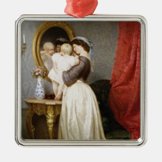 Reflections of Maternal Love Christmas Ornament