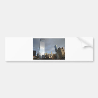 Reflections of New York Bumper Sticker