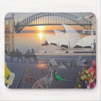 REfLECTIONS OF OZ  Sydney  Port Arthur Mouse Mat