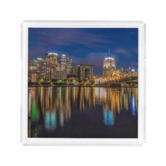 Reflections of Pittsburgh Acrylic Tray