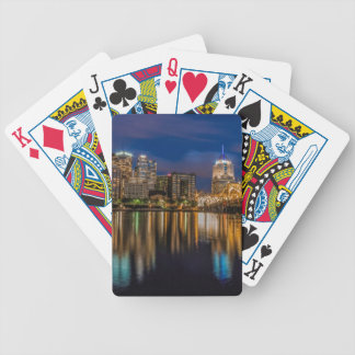 Reflections of Pittsburgh Bicycle Playing Cards