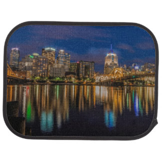 Reflections of Pittsburgh Car Mat