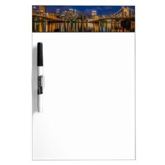 Reflections of Pittsburgh Dry Erase Board