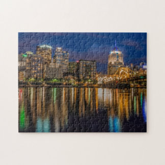 Reflections of Pittsburgh Jigsaw Puzzle