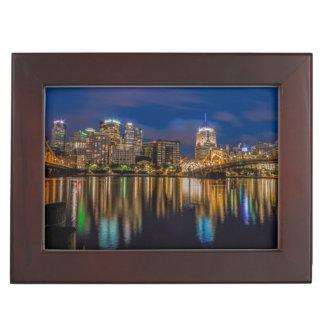 Reflections of Pittsburgh Keepsake Box