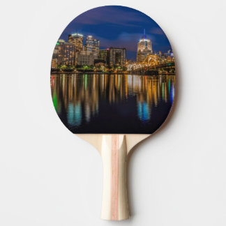 Reflections of Pittsburgh Ping Pong Paddle