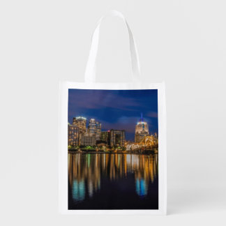 Reflections of Pittsburgh Reusable Grocery Bag