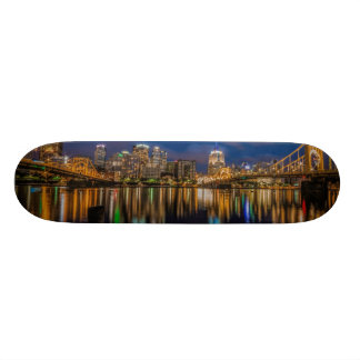 Reflections of Pittsburgh Skateboard Deck