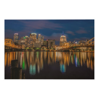 Reflections of Pittsburgh Wood Wall Decor